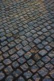 Pavimentación del adoquín Imágenes de archivo libres de regalías