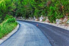 Pavimentación del camino Imagen de archivo