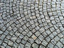 Pavimentación del granito Fotografía de archivo libre de regalías