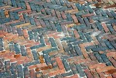 Pavimentación del ladrillo Imagenes de archivo