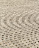 Pavimentación modelada cuadrado Fotos de archivo libres de regalías