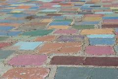 Pavimentación de la calle Imagen de archivo