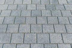 Pavimentado con el piso del granito Foto de archivo libre de regalías