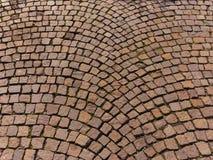 Pavimentadoras de la calle del bloque del granito Fotos de archivo libres de regalías