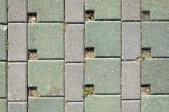 Pavimentando a textura concreta das pedras Imagens de Stock Royalty Free