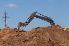 Pavimentando uma estrada nova. Foto de Stock