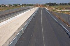 Pavimentando uma estrada nova Foto de Stock