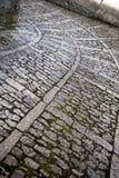 Pavimentazione antica Fotografia Stock Libera da Diritti
