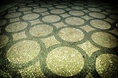 Pavimentazione artistica Immagine Stock