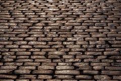Pavimentazione bagnata del ciottolo Immagine Stock Libera da Diritti