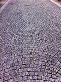 Pavimentazione Cobbled Fotografia Stock Libera da Diritti