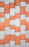 Pavimentazione colorata come fondo immagine stock libera da diritti