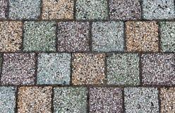 Pavimentazione concreta colorata con le strutture belle di alta qualità Fotografia Stock Libera da Diritti
