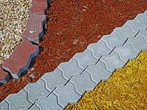 Pavimentazione degli ornamenti 1 del giardino Immagine Stock Libera da Diritti