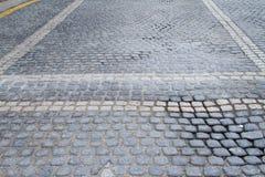 Pavimentazione del blocco Immagini Stock Libere da Diritti