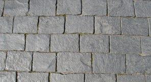 Pavimentazione del blocco (come priorità bassa) Fotografia Stock