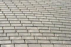 Pavimentazione del Cobblestone Immagine Stock