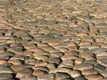 Pavimentazione del Cobblestone Fotografia Stock Libera da Diritti