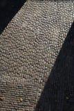 Pavimentazione del Cobblestone Fotografia Stock