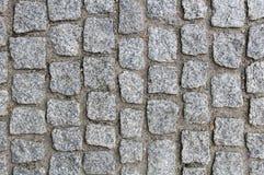 Pavimentazione del granito fotografie stock