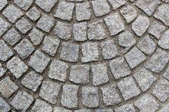 Pavimentazione del granito Fotografia Stock Libera da Diritti
