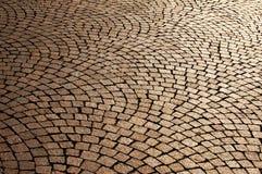 Pavimentazione del mattone Immagine Stock Libera da Diritti