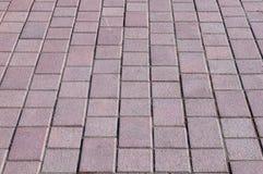 Pavimentazione del mattone Immagini Stock