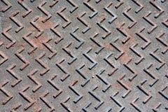 Pavimentazione del metallo Fotografia Stock Libera da Diritti