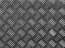 Pavimentazione del metallo fotografia stock