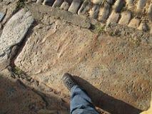 Pavimentazione del XVII secolo Immagini Stock Libere da Diritti