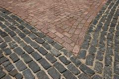 Pavimentazione della carreggiata Fotografie Stock