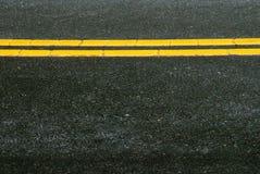 Pavimentazione della strada principale Fotografia Stock