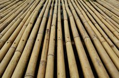 Pavimentazione di bambù Fotografie Stock