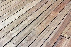 Pavimentazione di legno fotografie stock libere da diritti