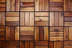 Pavimentazione di legno della priorità bassa Fotografie Stock