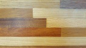 Pavimentazione di legno strutturata differente Fotografia Stock