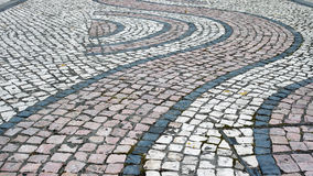 Pavimentazione di pietra immagini stock