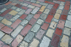 Pavimentazione di pietra del blocco Fotografia Stock Libera da Diritti