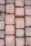 Pavimentazione di pietra delle mattonelle Fotografie Stock