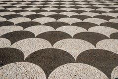 Pavimentazione, Funchal, Madera, Portogallo Fotografie Stock Libere da Diritti