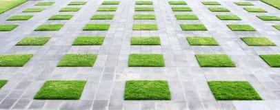 Pavimentazione geometrica Immagini Stock
