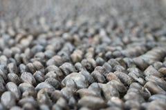 Pavimentazione grigia dei ciottoli Fotografie Stock