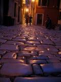 Pavimentazione lucidata come specchio Immagine Stock