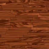 Pavimentazione marrone calda del parchè Fotografia Stock