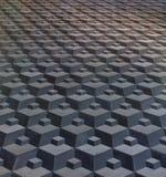 Pavimentazione in piastrelle Fotografie Stock Libere da Diritti