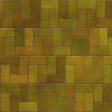 Pavimentazione in piastrelle del blocchetto del mattone come struttura di progettazione Immagini Stock