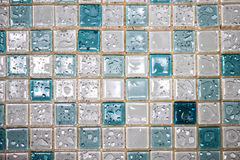 Pavimentazione in piastrelle dopo pioggia Fotografia Stock