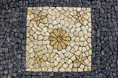 Pavimentazione portoghese Fotografia Stock Libera da Diritti