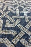 Pavimentazione portoghese Immagine Stock