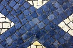 Pavimentazione portoghese Immagine Stock Libera da Diritti